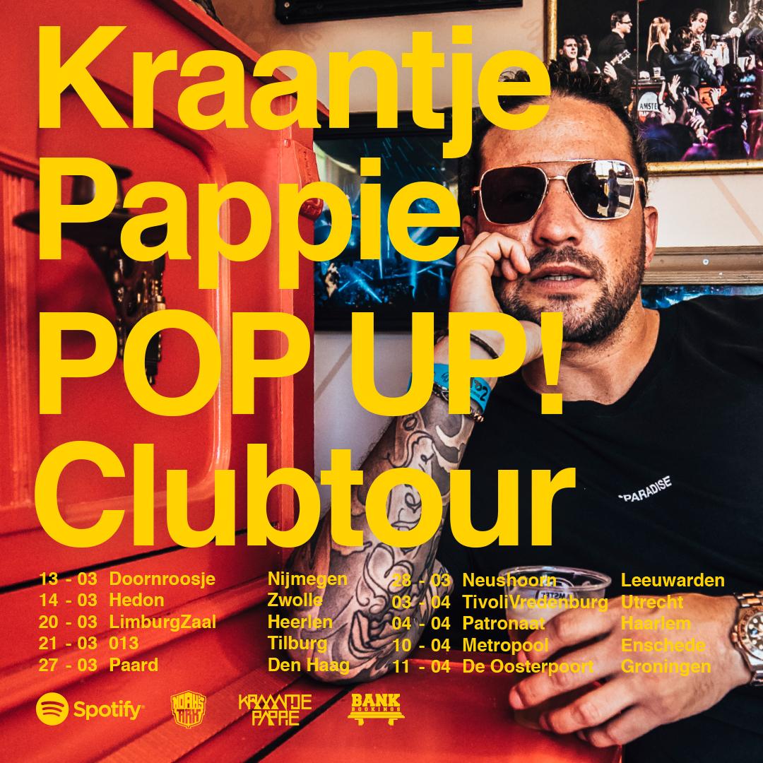 Kraantje Pappie op Mainstage Pinkpop | Bank Bookings